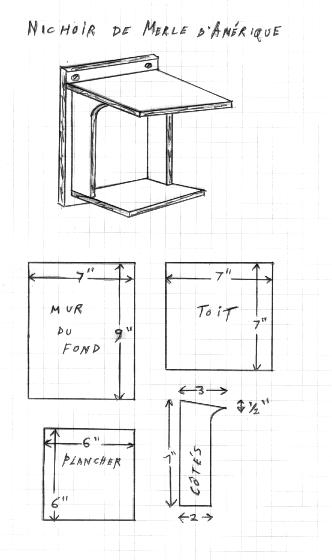 cabanes oiseaux en veux tu en voil at archicaro. Black Bedroom Furniture Sets. Home Design Ideas